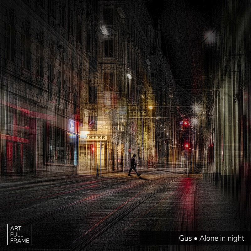 ArtFullFrame - GUS - Alone In Night