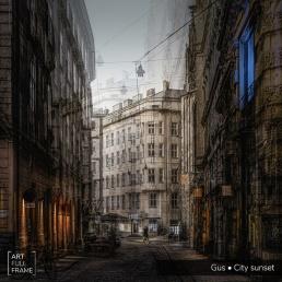 ArtFullFrame - GUS - City Sunset