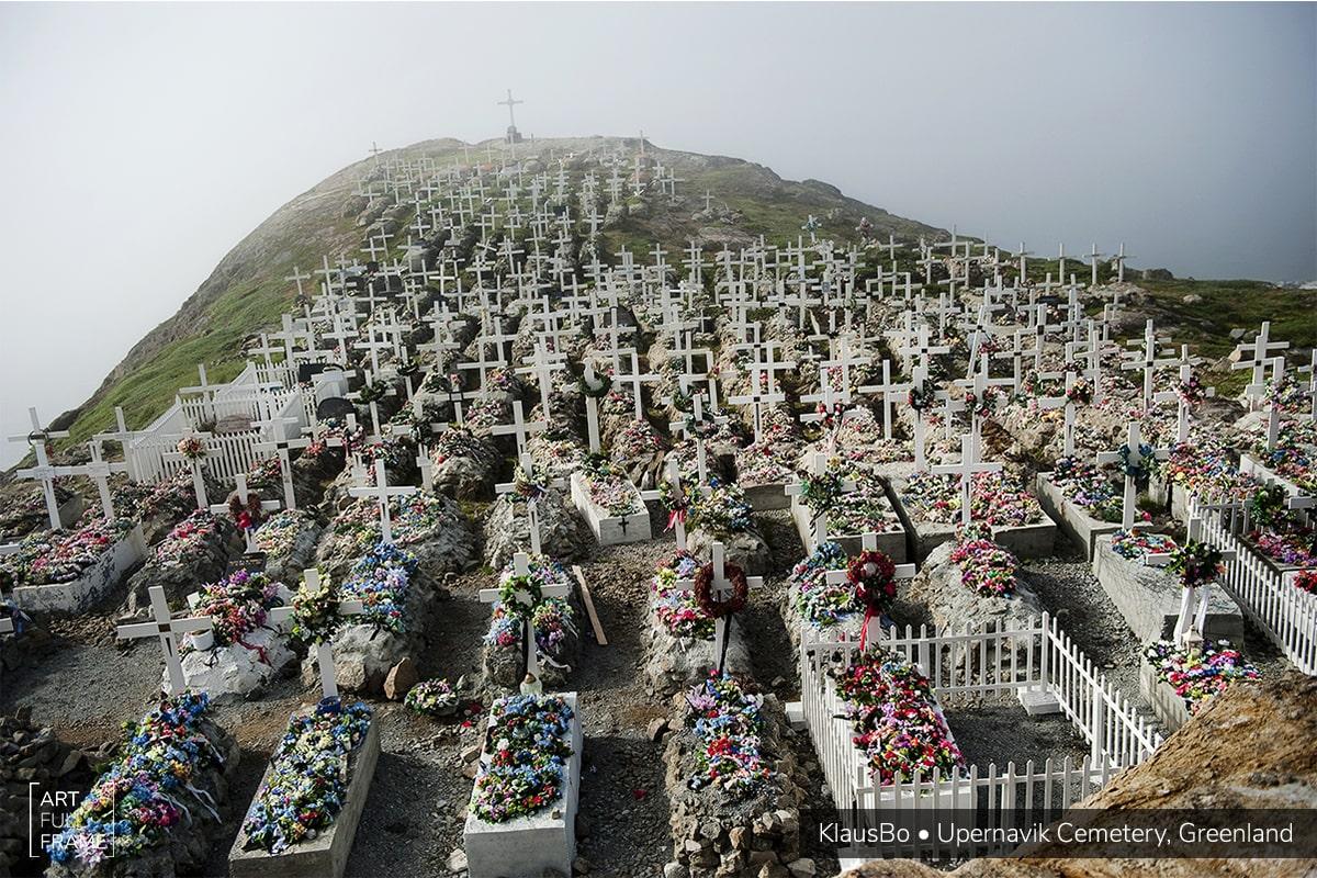 ArtFullFrame - Klaus Bo - Upernavik Cemetery Greenland