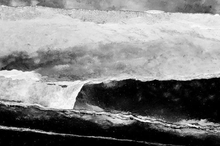 Ann Backx - Black Ice 1 - ArtFullFrame artfullframe.com
