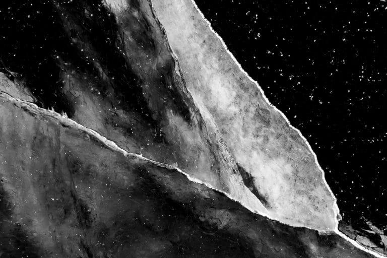 Ann Backx - Black Ice 3 - ArtFullFrame artfullframe.com