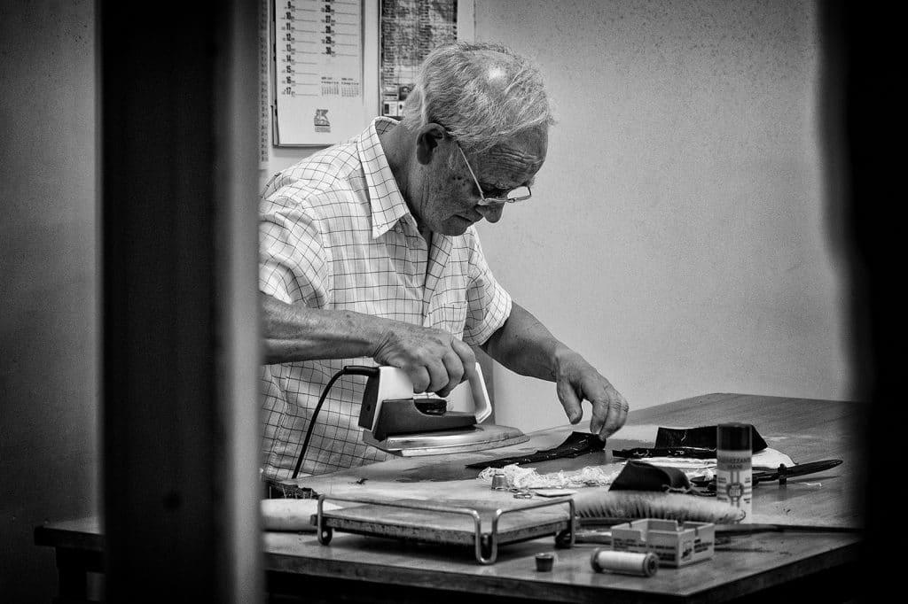 @Antonio Perrone - The Tailor - People at Work Contest - ArtFullFrame - artfullframe.com