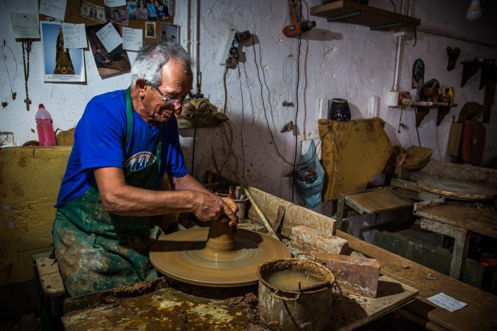 Michele Pedone - The Potter - People at Work Contest - ArtFullFrame - artfullframe.com